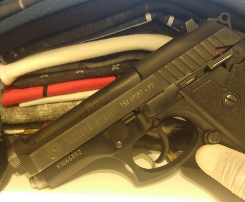 Armas foram encontradas na casa dos suspeitos – PF/Divulgação/ND
