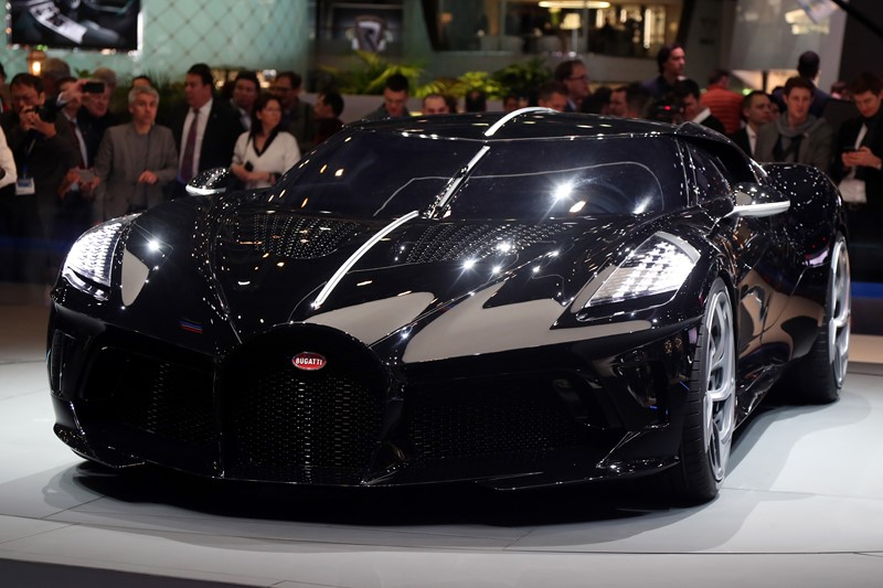 Bugatti La Voiture Noire: 1 unidade - Foto: Divulgação/Newspress - Foto: Divulgação/Newspress/Garagem 360/ND
