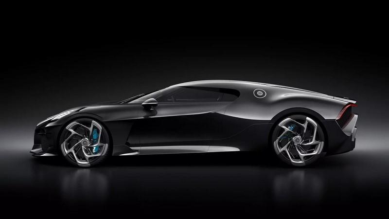 Bugatti La Voiture Noire: 1 unidade - Foto: Divulgação - Foto: Divulgação/Garagem 360/ND