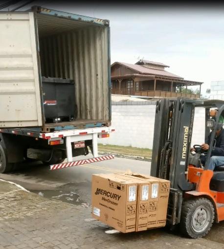 Carga foi roubada no dia 8 de abril em Tijucas – Polícia Civil/Divulgação/ND