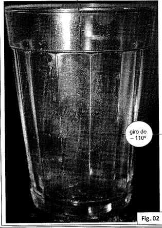 Prova foi colhida em copo d'água – Foto: Reprodução/ND