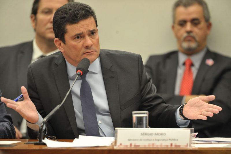 Sergio Moro durante audiência pública na Comissão de Constituição e Justiça (CCJ) da Câmara dos Deputados. – Foto: Fabio Rodrigues Pozzebom/Agência Brasil/ND