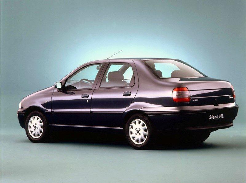 Fiat Siena (1997) - Foto: Divulgação - Foto: Divulgação/Garagem 360/ND