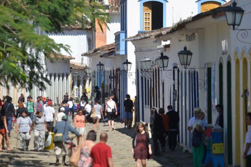 Paraty já teve uma candidatura a patrimônio cultural recusada em 2009 – Tânia Rêgo/Agência Brasil