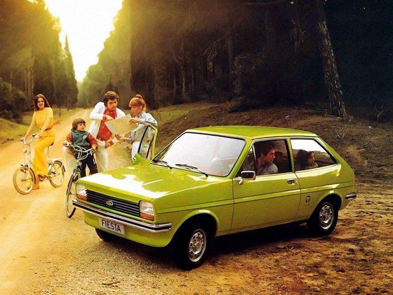 Ford Fiesta (1973) - Foto: Divulgação - Foto: Divulgação/Garagem 360/ND