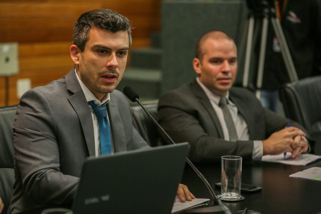 Bruno Souza e Jessé Lopes - Fábio Queiroz/Agência AL/ND