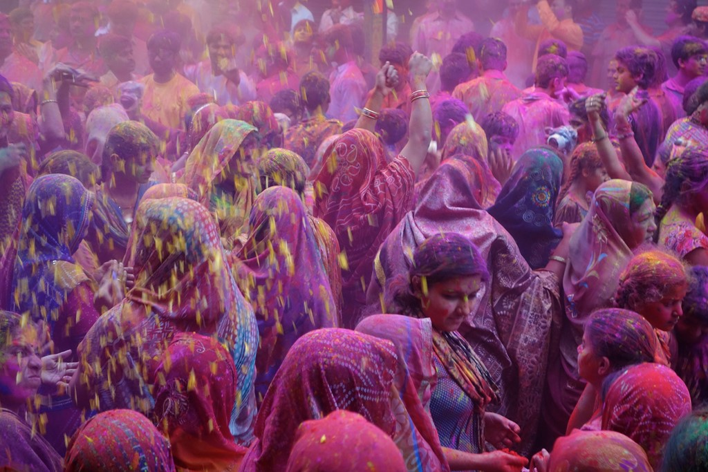 Holi - Rajesh_India on Visual hunt / CC BY-NC-ND - Rajesh_India on Visual hunt / CC BY-NC-ND/Rota de Férias/ND