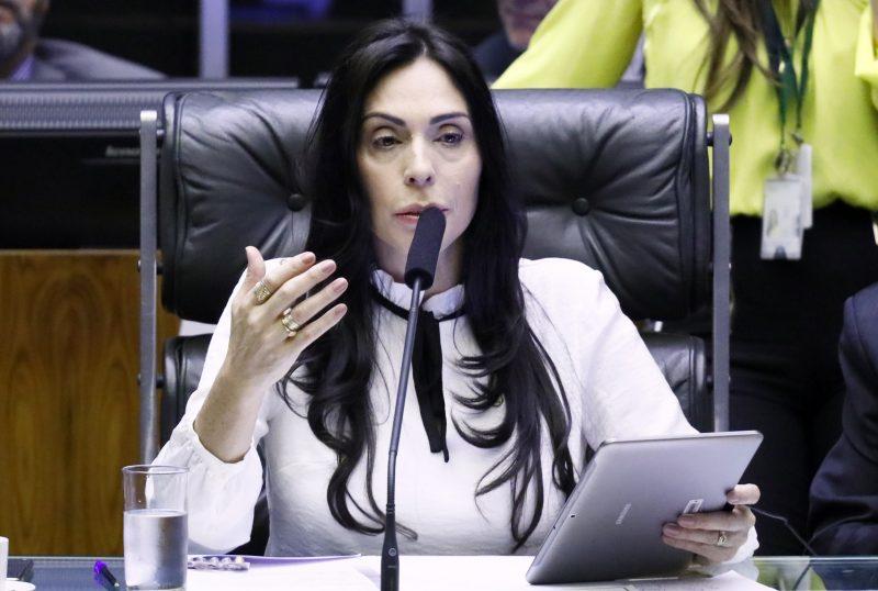 Geovânia vem sendo prestigiada, inclusive, com a possibilidade de presidir sessões da Câmara – Luis Macedo/Câmara dos Deputados/ND