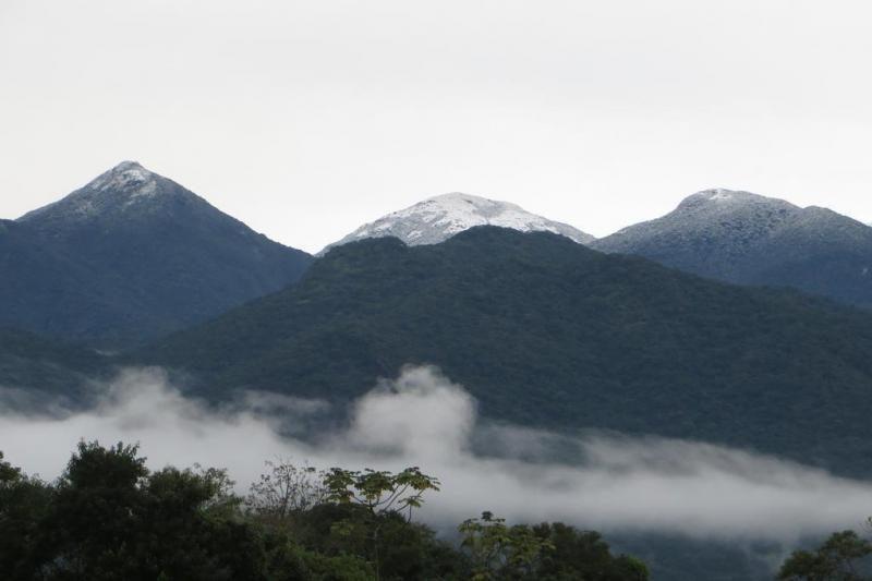 A menor temperatura registrada na Grande Florianópolis foi de -3,2°C - Luiza Andrade Wiggers/Arquivo Pessoal