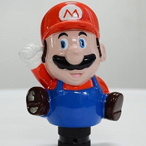Manoplas de câmbio customizadas são utilizadas há muito tempo. Seja imitando uma bola de sinuca, ou até mesmo o Super Mario, o acessório é polêmico - Foto; Reprodução/AliExpress - Foto; Reprodução/AliExpress/Garagem 360/ND