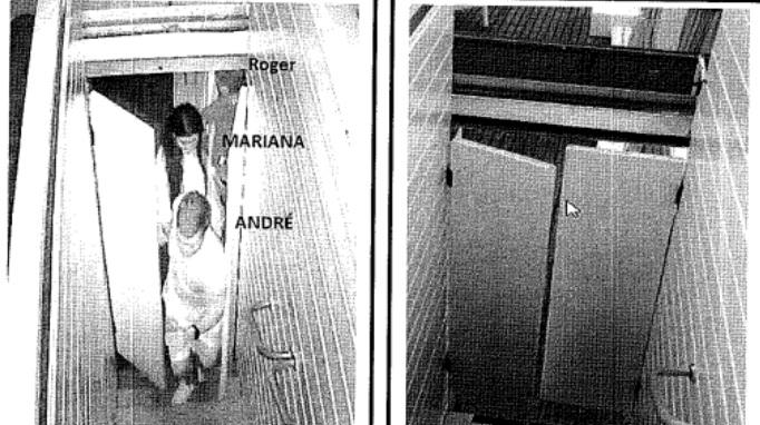 Polícia obteve imagens durante investigações no caso Mariana Ferrer – Foto: Reprodução/ND