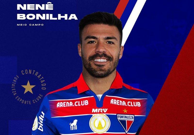 Fortaleza anuncia retorno de Nenê Bonilha jogador nascido em São joão  Nenebonilha-800x556