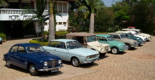 Alguns exemplares da coleção do Flavio Gomes; o azul claro é o Fissore - Foto: Acervo Pessoal/Flavio Gomes - Foto: Acervo Pessoal/Flavio Gomes/Garagem 360/ND