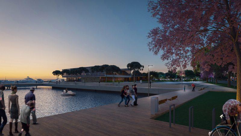 Início das obras do Parque Urbano e Marina da Beira-mar Norte está previsto para o final de 2022 – Foto: Divulgação/ND