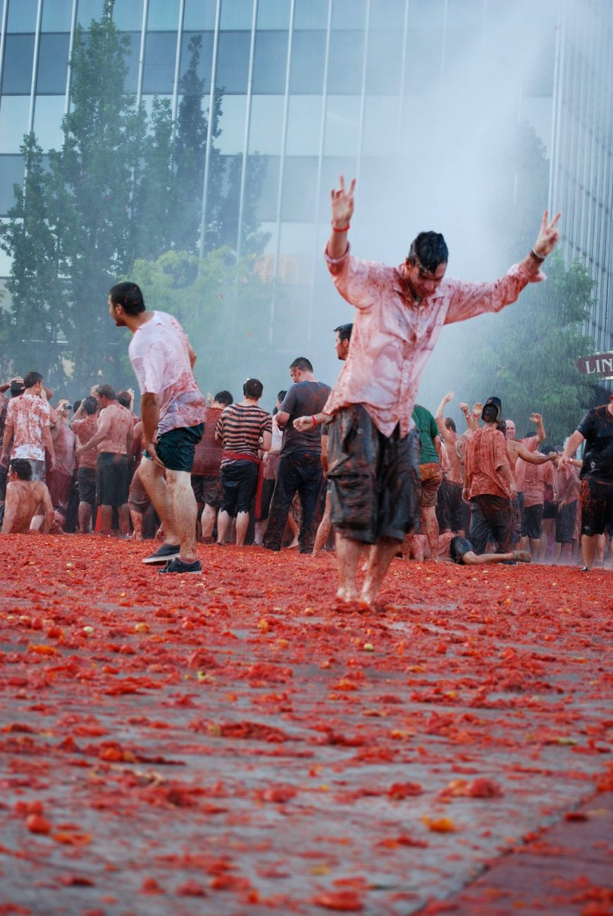 Tomatina - RenoTahoe on Visualhunt.com / CC BY-NC-ND - RenoTahoe on Visualhunt.com / CC BY-NC-ND/Rota de Férias/ND