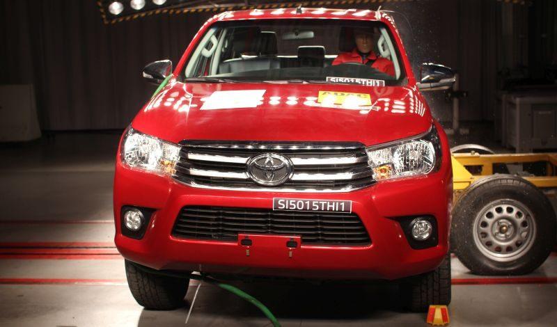 Latin NCAP: Toyota Hilux, Nissan Frontier e Chevrolet Cruze são avaliados em nova rodada - Foto: Divulgação