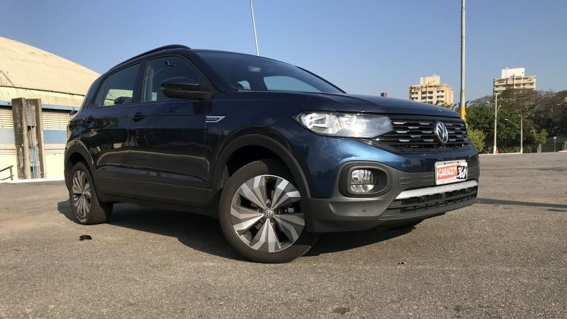 Testamos: Volkswagen T-Cross Comfortline é um SUV com estabilidade de hatch - Foto: Leo Alves/Garagem360
