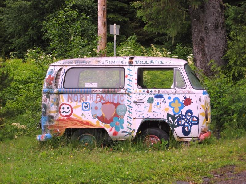 Já essa Kombi, além de ser pequena, ainda recebeu uma pintura hippie - Foto: skeggy via VisualHunt / CC BY-NC-SA - Foto: skeggy via VisualHunt / CC BY-NC-SA/Garagem 360/ND