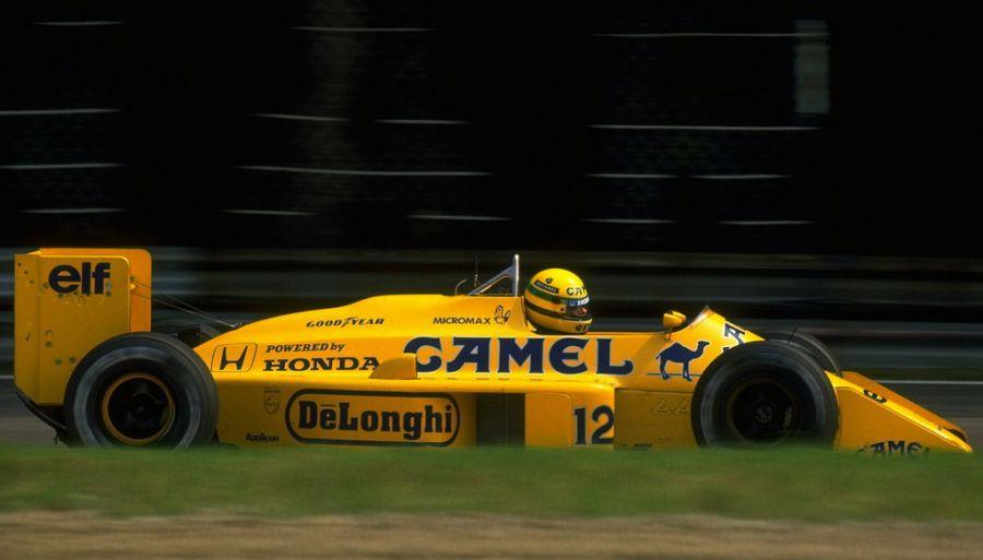 Lotus 99t: último carro guiado por Ayrton Senna na Lotus, o 99t foi o primeiro a utilizar a suspensão ativa; apesar de a inovação não ter feito muito sucesso, ajudou o piloto brasileiro a conquistar suas últimas vitórias pela equipe - Foto: BYSER via VisualHunt / CC BY - Foto: BYSER via VisualHunt / CC BY/Garagem 360/ND