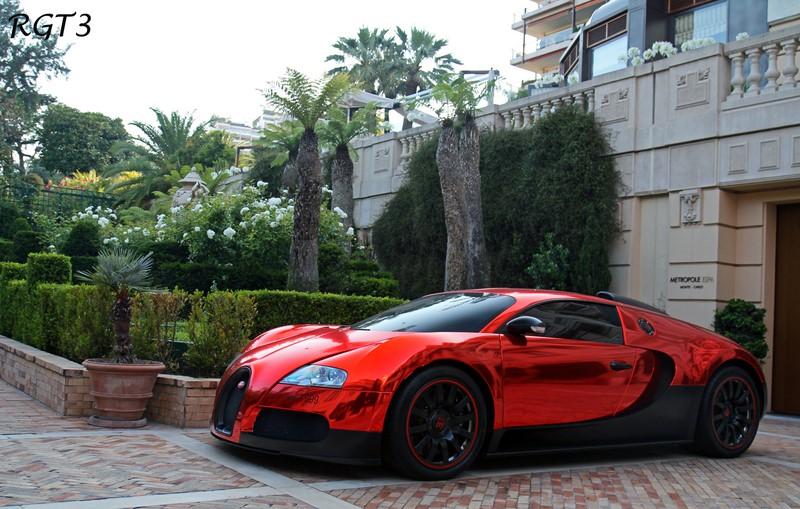 A pintura cromada desse Bugatti Veyron pode dividir opiniões por onde o supercarro passar - Foto: RGT3 Pics via Visualhunt / CC BY-NC-ND - Foto: RGT3 Pics via Visualhunt / CC BY-NC-ND/Garagem 360/ND