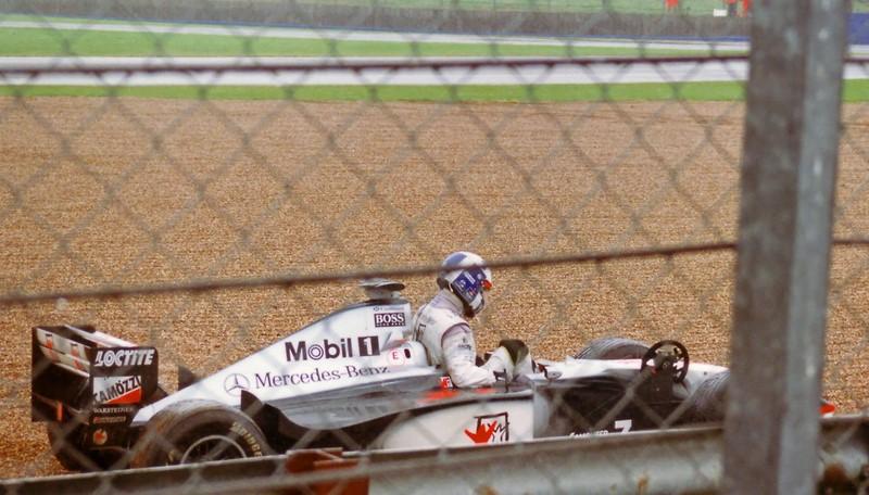 David Coulthard: o GP da Bélgica de 1998 ficou marcado pelo grande acidente da largada. Porém, o grande causador da colisão foi o escocês da McLaren. Ele perdeu o controle de seu carro e levou mais 12 pilotos na batida. O vídeo está aqui: https://is.gd/nkqlOu - Foto: Arrr! on Visual Hunt / CC BY-NC - Foto: Arrr! on Visual Hunt / CC BY-NC /Garagem 360/ND