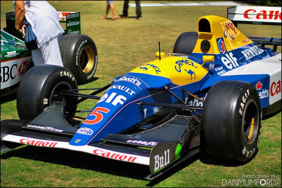 Williams FW14b: o inglês Nigel Mansell, em 1992, pôde, enfim, comemorar seu título mundial de pilotos; o FW14b venceu 10 das 16 corridas daquele ano, e trouxe inovações como suspensão ativa, cujo conceito foi ampliado depois do Lotus 99t, transmissão semiautomática e controle de tração - Foto: Dan Mumford via Visual Hunt / CC BY-NC-ND - Foto: Dan Mumford via Visual Hunt / CC BY-NC-ND/Garagem 360/ND