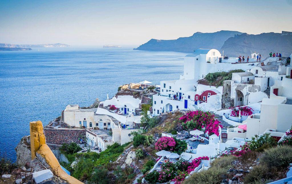 40 - Santorini, Grécia - 78,87% - Pixabay - Pixabay /Rota de Férias/ND