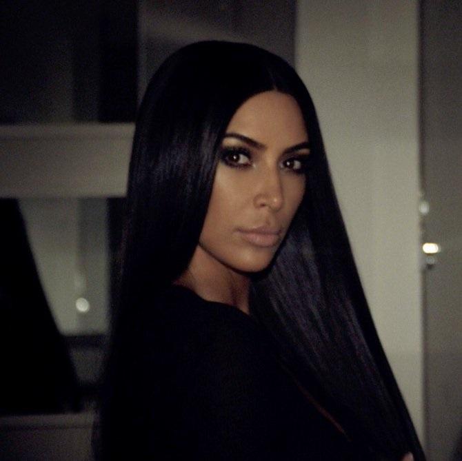 12. Kim Kardashian (http://twitter.com/kimkardashian) – 61 milhões de seguidores - Crédito: Reprodução Twitter/33Giga/ND
