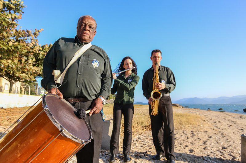 Grupo aposta no ensino de música aos mais jovens para continuar existindo - Anderson Coelho/ND