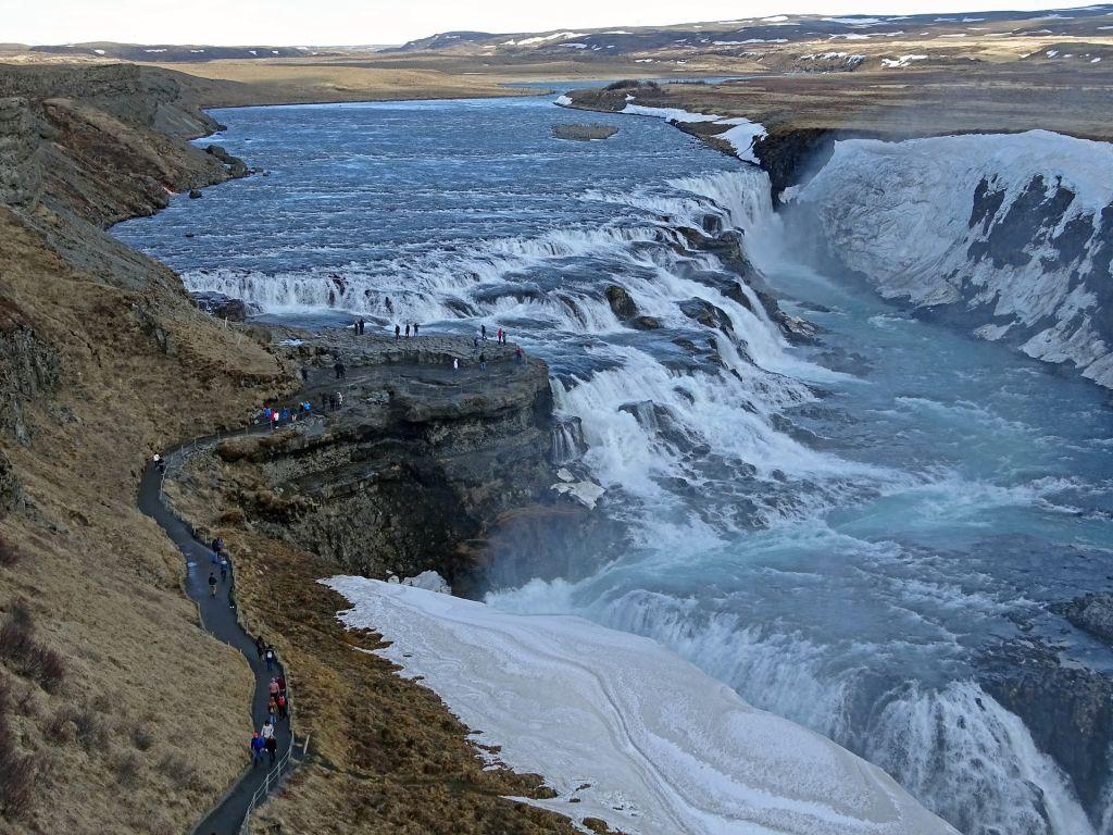 Cachoeira Gullfoss, Islândia - Pixabay - Pixabay /Rota de Férias/ND