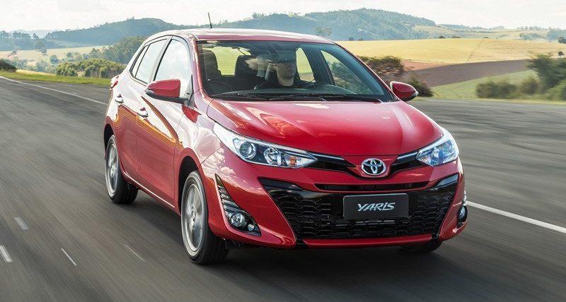 Toyota Yaris na ponta: conheça os hatches que menos depreciaram no primeiro semestre - Foto: Divulgação
