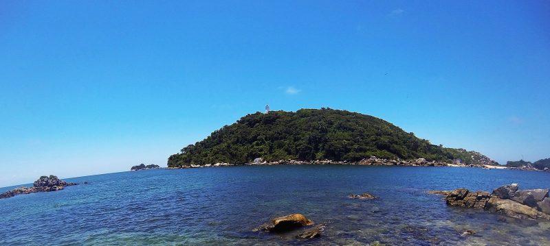 Ilha da Paz é um dos principais pontos turísticos da região – Internet/Reprodução