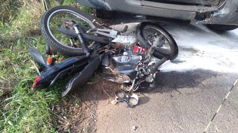 Motociclista morreu no local do acidente – Internet/Divulgação/ND