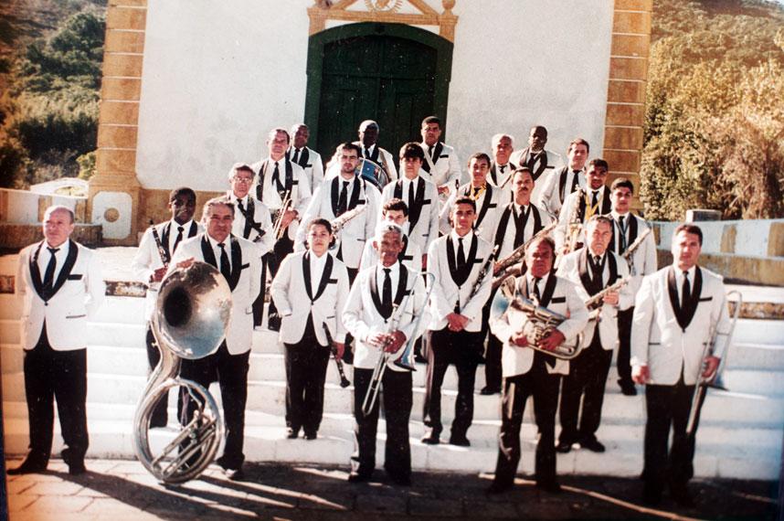 Década de 1990, sob a regência de Mario João Daniel - Arquivos Banda da Lapa/Divulgação