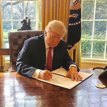 11. Donald Trump (http://twitter.com/realdonaldtrump) – 62 milhões de seguidores - Crédito: Reprodução Instagram/33Giga/ND