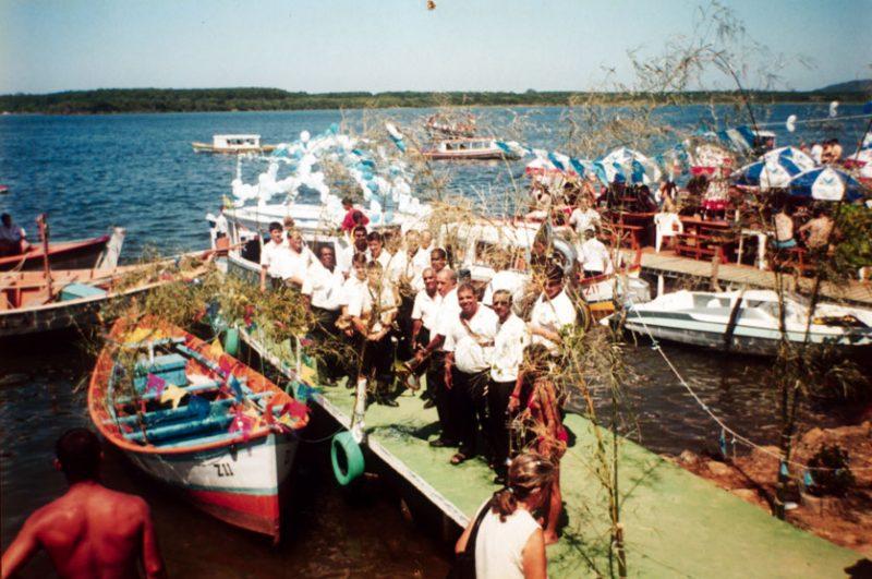 Festa de Nossa Senhora dos Navegantes, na Costa da Lagoa - Arquivos Banda da Lapa/Divulgação