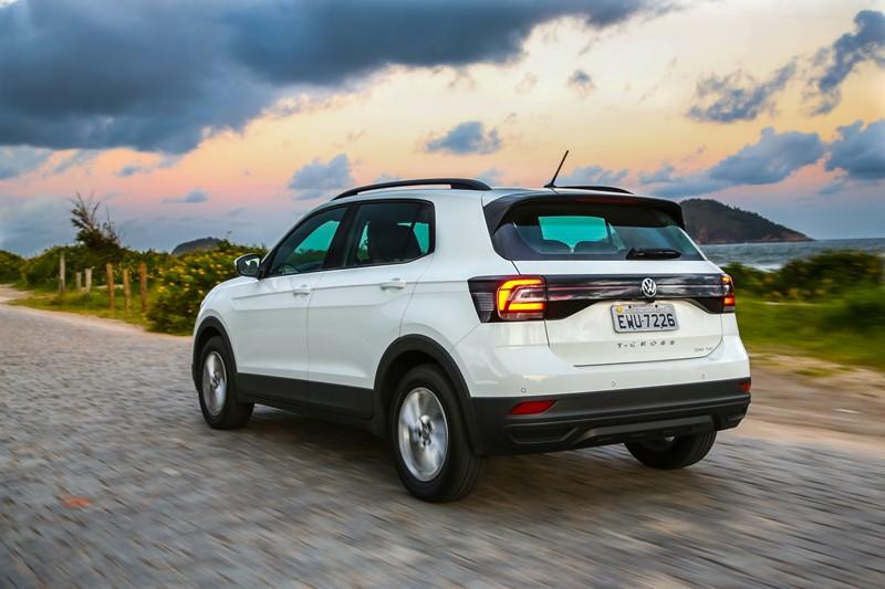 Volkswagen T-Cross: o SUV também utiliza o propulsor 1.0 TSI de 128 cv de potência e 20,4 kgfm de torque - Foto: Divulgação - Foto: Divulgação/Garagem 360/ND