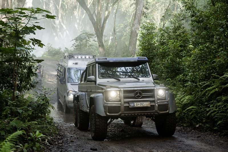 Se o Mercedes-Benz G 63 AMG 6x6 sobreviveu a ataques do maior e mais feroz dinossauro do filme