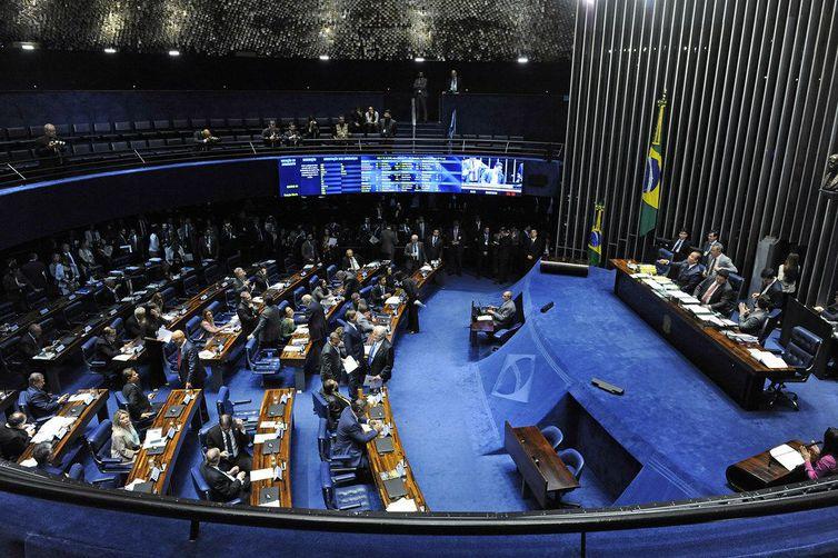Plenário do Senado Federal durante sessão deliberativa ordinária. Roque de Sá/Agência Senado – Roque de Sá/ND