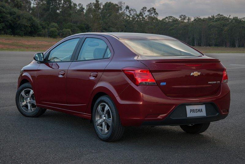 4. Chevrolet Prisma – 8.377 unidades - Foto: Divulgação - Foto: Divulgação/Garagem 360/ND