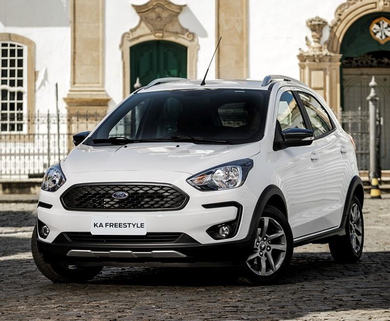 Ford Ka: entre os modelos 1.0 sem turbo, ele é o mais potente, com seus 85 cv - Foto: Divulgação - Foto: Divulgação/Garagem 360/ND