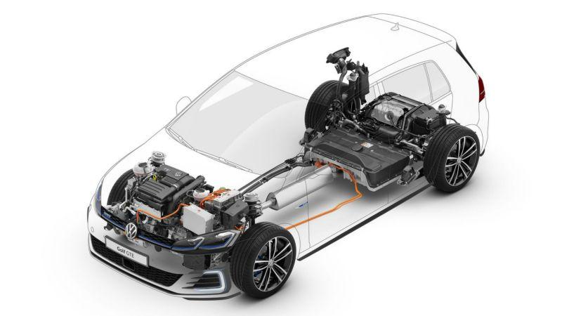 Volkswagen apresenta versão híbrida do Golf no Brasil - Foto: Divulgação - Foto: Divulgação/Garagem 360/ND