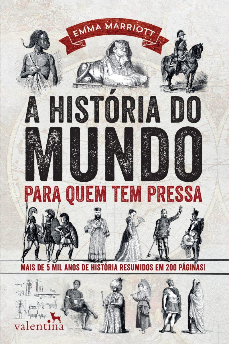 3º - Livro de Emma Marriot, que resumo a história do mundo em 200 páginas. Preço na Amazon: 10,76 - Crédito: Divulgação/33Giga/ND
