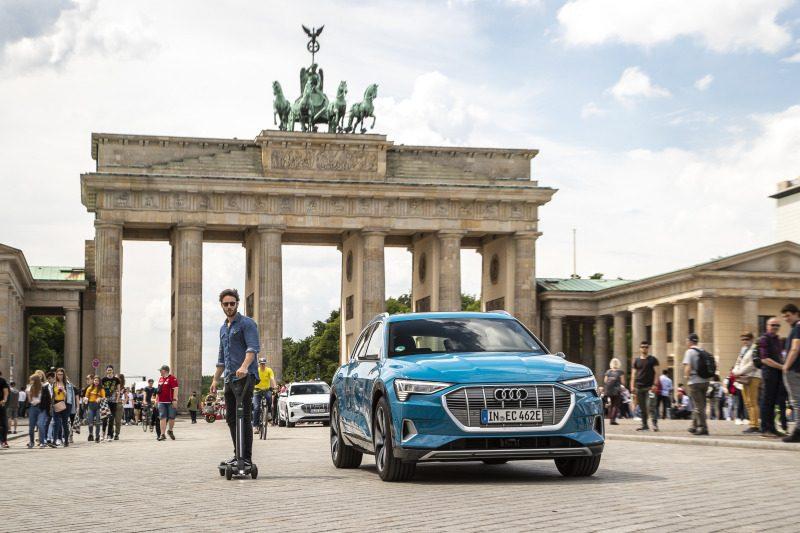 Audi mostra conceito de patinete elétrico que deve chegar ao mercado em 2020 - Foto: Divulgação
