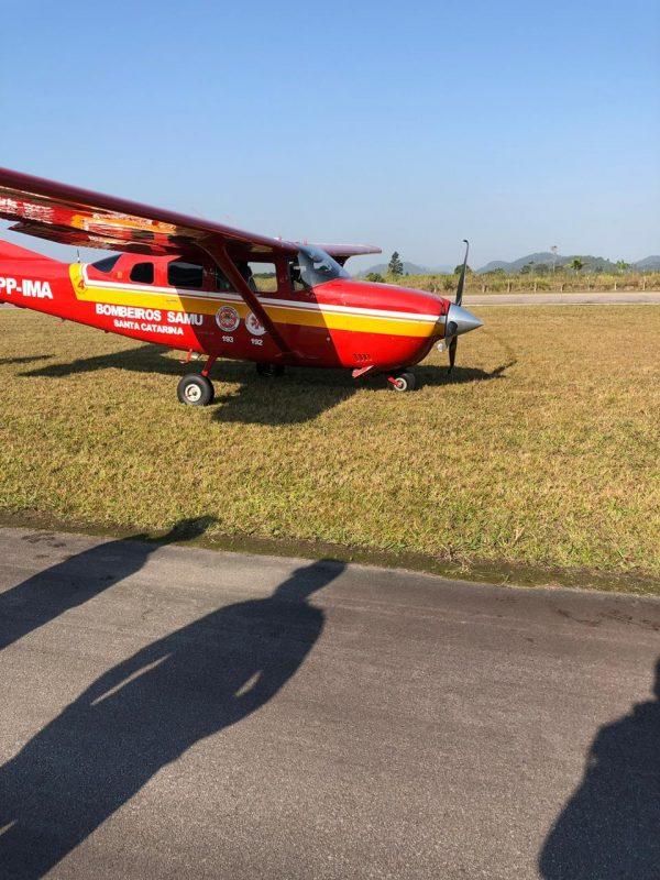 Aeronave Arcanjo 04 vai passar por inspeção do Seripa 5 – Divulgação/ND