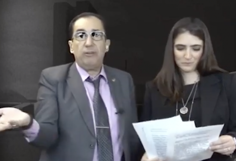 Senador Jorge Kajuru quer marcar território – Foto: Reprodução Youtube