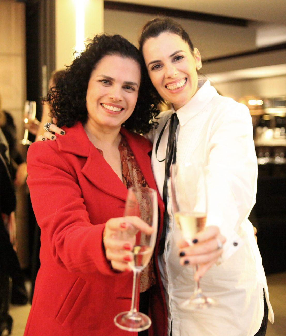 Carolina Camargo (à esq.) e Fernanda Souto - Vanessa Pinho/Divulgação/ND