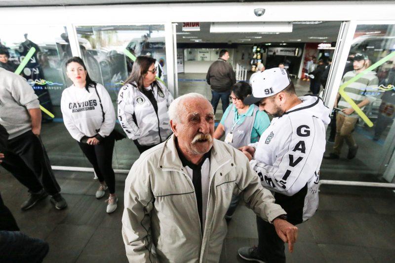 Torcedor Hercílio Polineto estava indignado com o atraso dos salários dos jogadores - Anderson Coelho/ND