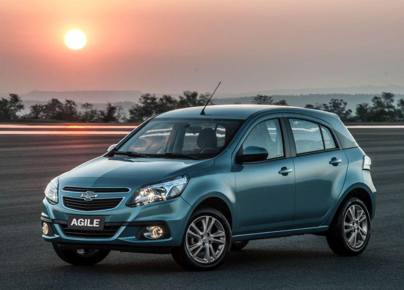 Chevrolet Agile: zero estrelas para adultos e duas para crianças - Foto: Divulgação - Foto: Divulgação/Garagem 360/ND
