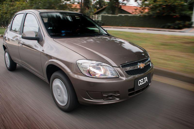 Chevrolet Celta: uma estrela para adultos e duas para crianças - Foto: Divulgação - Foto: Divulgação /Garagem 360/ND